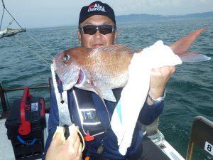 鳴門 釣り船 愛海 鯛ラバ