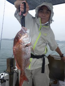 鳴門釣り船釣船愛海鯛ラバジギング