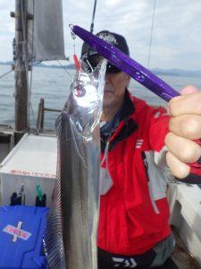 鳴門遊漁船 愛海 タチウオ 太刀魚