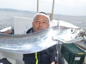 鳴門釣り船 遊漁船 愛海 タチウオ