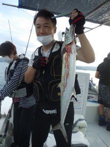 鳴門 遊漁船 愛海 タチウオ