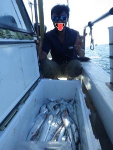鳴門遊漁船 愛海 ジギング タチウオ